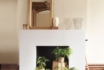 unused fireplace / by brimful of asha