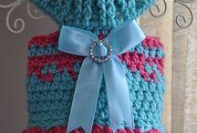 crochet pet clothes