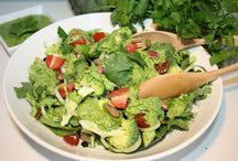 Salads/ salad dressings