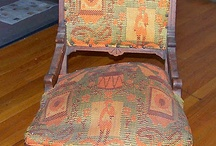 upholstery techniques / by Vicki Chester-Stark
