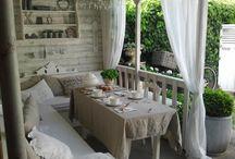 Balkon, ogród