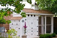 Garden {Sheds, Coops and Barns } / by Bren