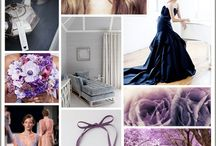 Wedding color palettes / by Erica Benner