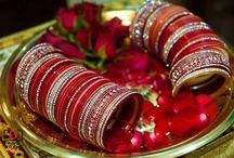 Indian Wedding Chura and Kalire / Gorgeous photos of chura and kalire!