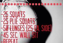 Work out / Inspiraatioliikkeitä treeniin