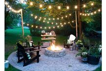 Back yard lights