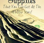 Dollar Store Organizing / I love the Dollar Store! I love pinning Dollar Store Organization and storage Ideas. I love organization but do not like to pay a lot for storage solutions. See some of my tips at www.organizedisland.com