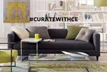 #CurateWithCE / We're asking fans to post photographs of CE artwork in their homes, offices, gardens, garage, etc. on Instagram using the hashtag #CurateWithCE.