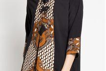 batik Pakaian wanita