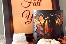 Fall Decor Ideas / Home decor and DIY ideas for Fall.