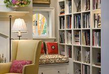 Окно диван и книга