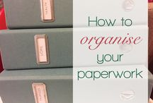 Organise my home / Ideas for keeping your home organised, in order and running smoothly.