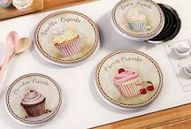 Kitchen Cupcake Decor