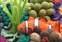 Crochet Fish and Sea Creatures