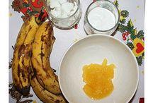 Balsam de par cu banane / http://visit-halkidiki.blogspot.gr/2014/12/balsam-de-par-cu-banane-si-ulei-de-nuca.html