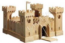 wooden castle / toys