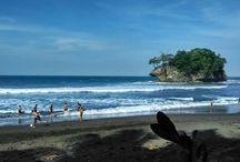 Madasari Beach, Pangandaran, Indonesia
