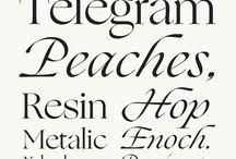 Typography - Typefaces
