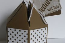 Stampin' Up! boxes