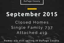 Statistics Made with Canva / Home Sales Stats made with Canva #Illinois