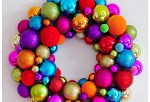 Merry & Bright... / Ideas to help the transition from red, gold and green grown up style to multi coloured family fun!