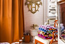 Living With Color: Orange / Interior design ideas and home decor in the color orange. Inspiration in a variety of design style sure to please.