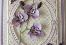 Card Making - Orchids Cards