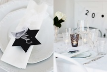Event Styling // Black + White / Event Styling