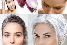 Comment teindre les cheveux gris