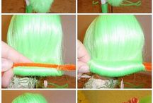 Barbie Hair Styling Ideas
