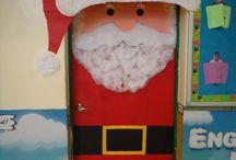 Christmas / Classroom door decor