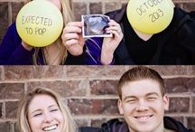 Baby Announcement Ideas / Some funny, cute, and totally creative ways to break the news to your family and friends when you're ready to announce your pregnancy.