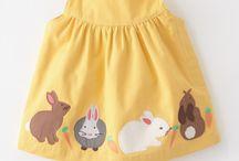 Couture pour robe de bébé