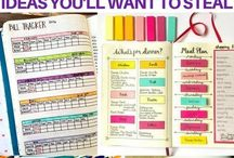 Planners & Bullet Journals / Good planners to use, ways to use bullet journals, and other organizational materials.