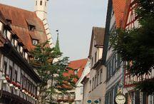 Biberach an der Riss / Die Stadt Biberach an der Riss liegt in Oberschwaben
