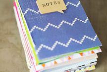 knihy, zápisníky