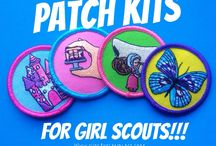 Girl Scout patches / by Kaci Benson