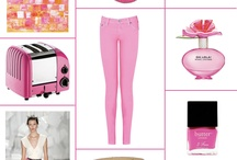 Neon Pink / by Eat Breathe Live Color | Zoe