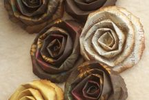 paper flowers / by Kathryn Toothill