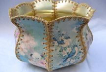 Vintage Card Baskets