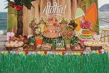 mesas dulces tropicales