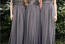 BRIDESMAID DRESSES / A space for ideas.
