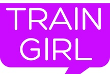 Train Girl initiative / Train Girl is a project I started after the adventurous summer of 2012. I had several meetings during travelling by train and was thinking about the idea of bringing people together to make the journey more sociable!