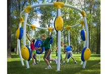 Electronic Play / NEOS, the world's first outdoor electronic playground, KPE (or kid-powered energy) electronic play and our funky animals and spring riders complete with sound and music all bring the fun of gaming directly to your playground.  How much fun is that?