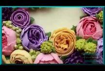 цветы крем видео