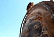 Un viaje a los trenes del olvido / Documental fotográfico de una estación de trenes a vapor en medio del desierto de Atacama