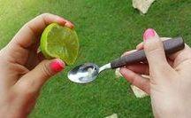 esprema um limão em uma colher de azeite e nunca mais...