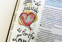 Bible journaling..