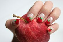 Cute and Easy Fruit Nail Art Designs