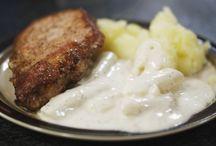 Alledaagse kook ideetjes / Mits een kleine twist perfect lactose vrij!  Vlees haal ik meestal in Nederland omdat de controle er strenger is en alles meestal lactose vrij is.